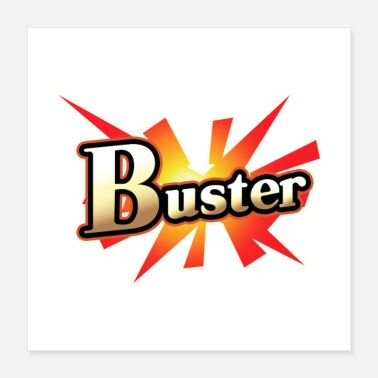 Cards Buster Card - Poster