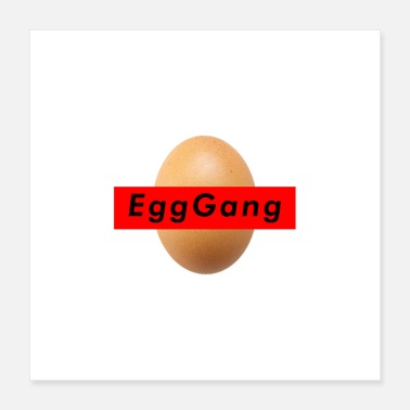 Gang World Record Egg Gang - Poster 16x16