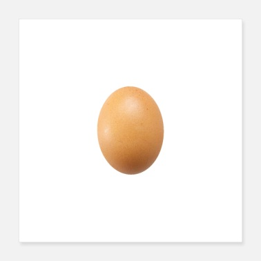 Record World Record Egg HD - Poster 16x16