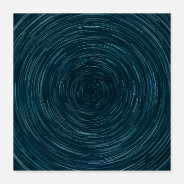 Swirl Abstract Space Circle Swirl - Poster