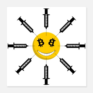 Dash Smile Bitcoin Has Been Injected - Poster