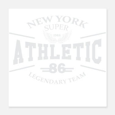 Athletes NEW YORK ATHLETIC LEGENDARY TEAM 01 - Poster 16x16