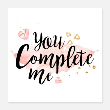 Young Money You Complete Me - Poster 16x16