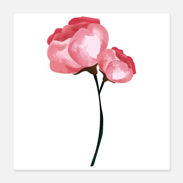 Spring Break Flower Spring Peony Pink - Gift Idea - Poster