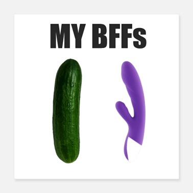 Gigolo My BFFs - cucumber and dildo - Poster 16x16
