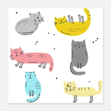 Pet Kitty Pet - Poster 16x16
