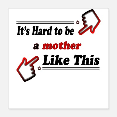 Mother Best Mother Ever Gift - Poster 16x16