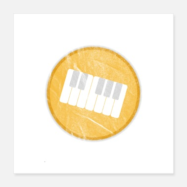 Piano Playing piano is my love - Piano player gift - Poster
