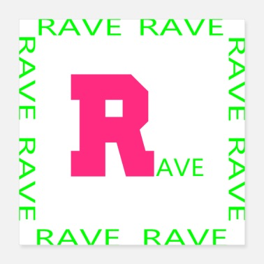 Tuning rave 1 - Poster 16x16