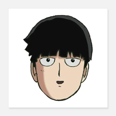 Mobile mob psycho 100 - Poster 16x16