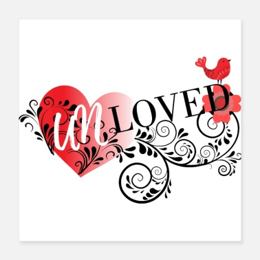 Naked Unloved - Poster 16x16