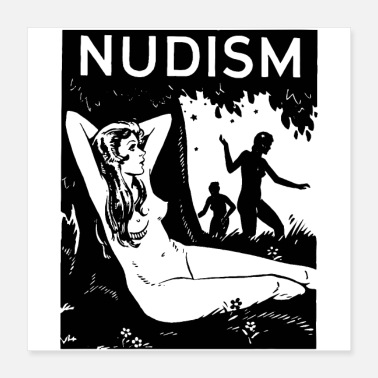 Free Speech NUDISM - Poster