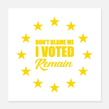 Grass Roots Peoples Vote Remain in EU - Poster