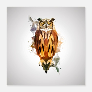 Owl POLY OWL - Poster