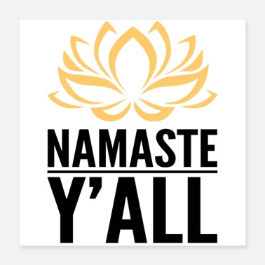 Association Namaste Hindu Greeting To all - Poster 16x16
