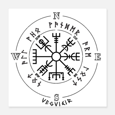 Weather Vegvisir - Poster 16x16