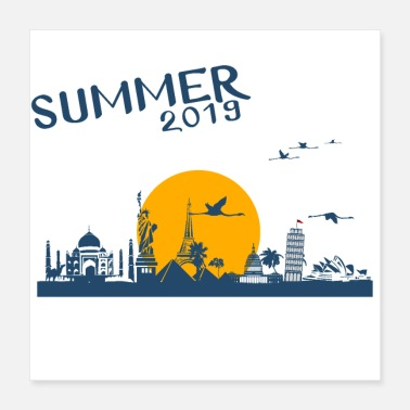 Leaning Tower Pisa Summer 2019 - Poster