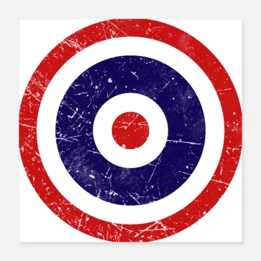 Thailand Thailand Flag Roundel Air Force - Poster 16x16