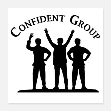 Plain Confident Group - Poster
