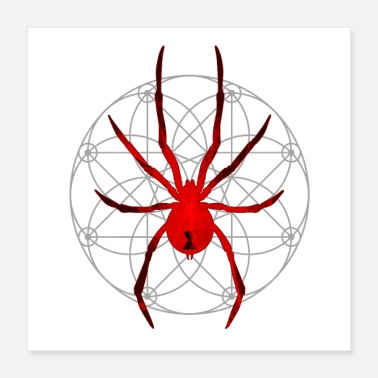 Arachnophobia The Red Widow - Poster 16x16