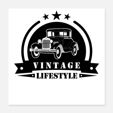 Classic Car Classic car vintage lifestyle - Poster
