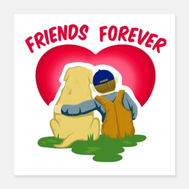 Friendship FRIENDS FOREVER - Poster