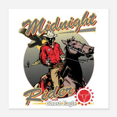 Sheriff Midnight Rider and Ghost Eagle - Poster
