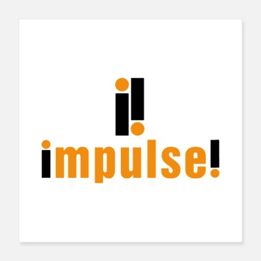 Record Label Impulse Record Label - Poster 16x16