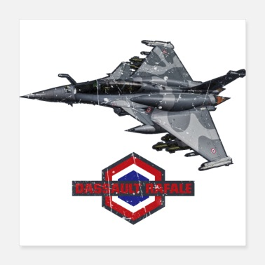 Aircraft Dassault Rafale Fighter French Aircraft - Poster