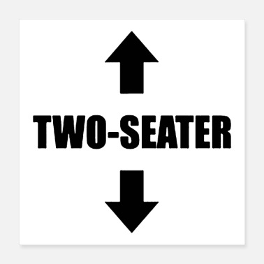 Two Two seater - Poster 16x16