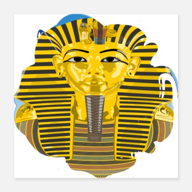 Skirt Pharaoh King Tutankhamun - Poster