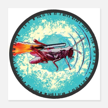Insect Space Insect - Poster