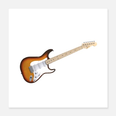 Electricity Electric Guitar - Poster