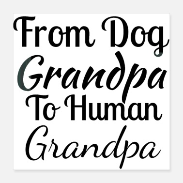 Highheels from dog grandpa to human grandpa - Poster