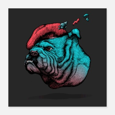 Bulldog Old English Bulldog - Poster