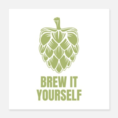 Brewery Brew It Yourself - Poster