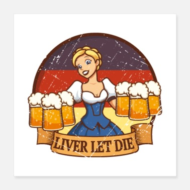 Wheat Liver Let Die - Poster 16x16