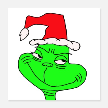 Grinch Grinch Christmas - Poster 16x16