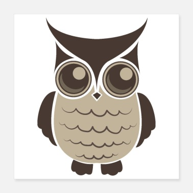 Owl Lovers Spiritual Animals Owl Lover Funny Gift Idea - Poster