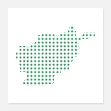 Maps Afghanistan Map - Poster