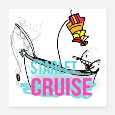 Foot Starlet Cruise - Poster