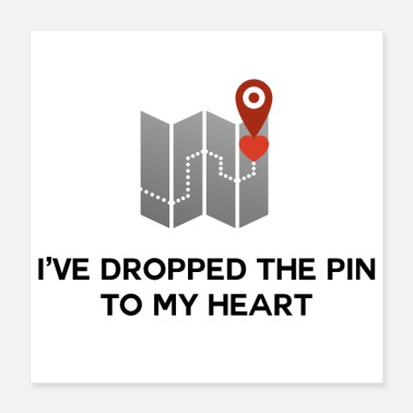 Seduce I've Dropped the Pin To My Heart - Poster