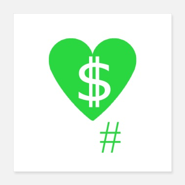 Money-grubbing Heart Money - Poster