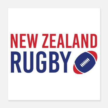 Rugby New Zealand Rugby Gift Idea - Poster
