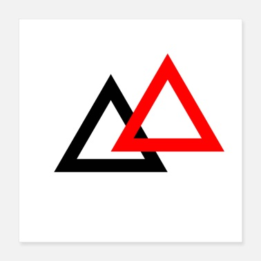 Triangle triangle design - Poster