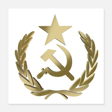 Hammer Hammer and sickle - Poster