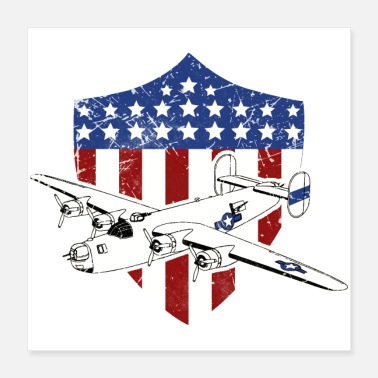 Usaf-patch USAF WW2 US Air Force Tokyo Express - Poster