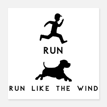 Wind RUN – Run Like The Wind - Poster