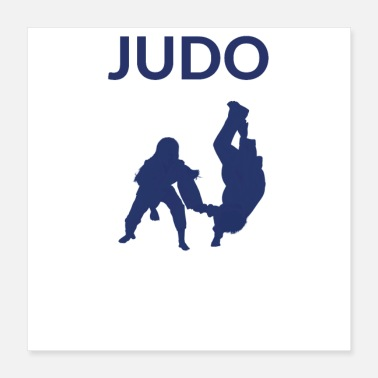 Judo Martial Art - Judo Throw - Poster