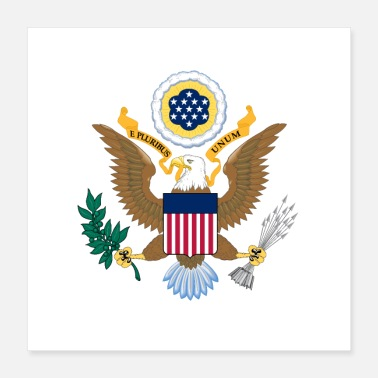 Us State Department of State logo - Poster